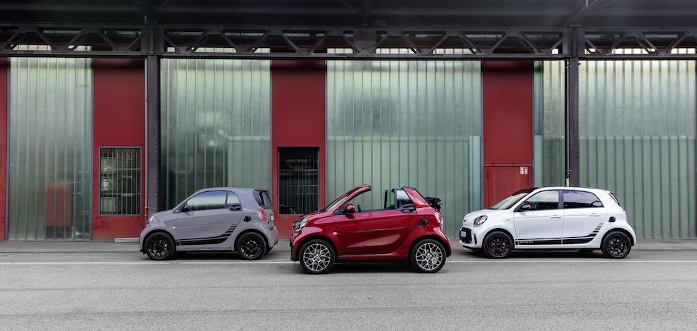 Smart unveils ForTwo and FourFour models in Frankfurt. — Handout via AFP