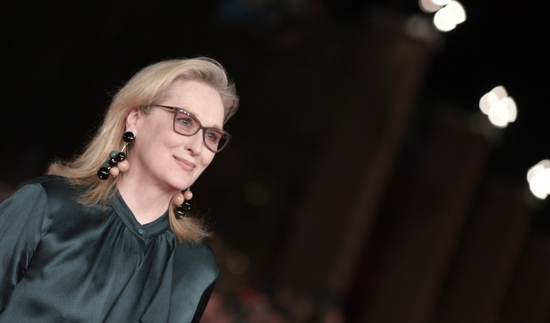 Meryl Streep is set to receive the inaugural actress prize at the Toronto International Film Festival. — AFP pic