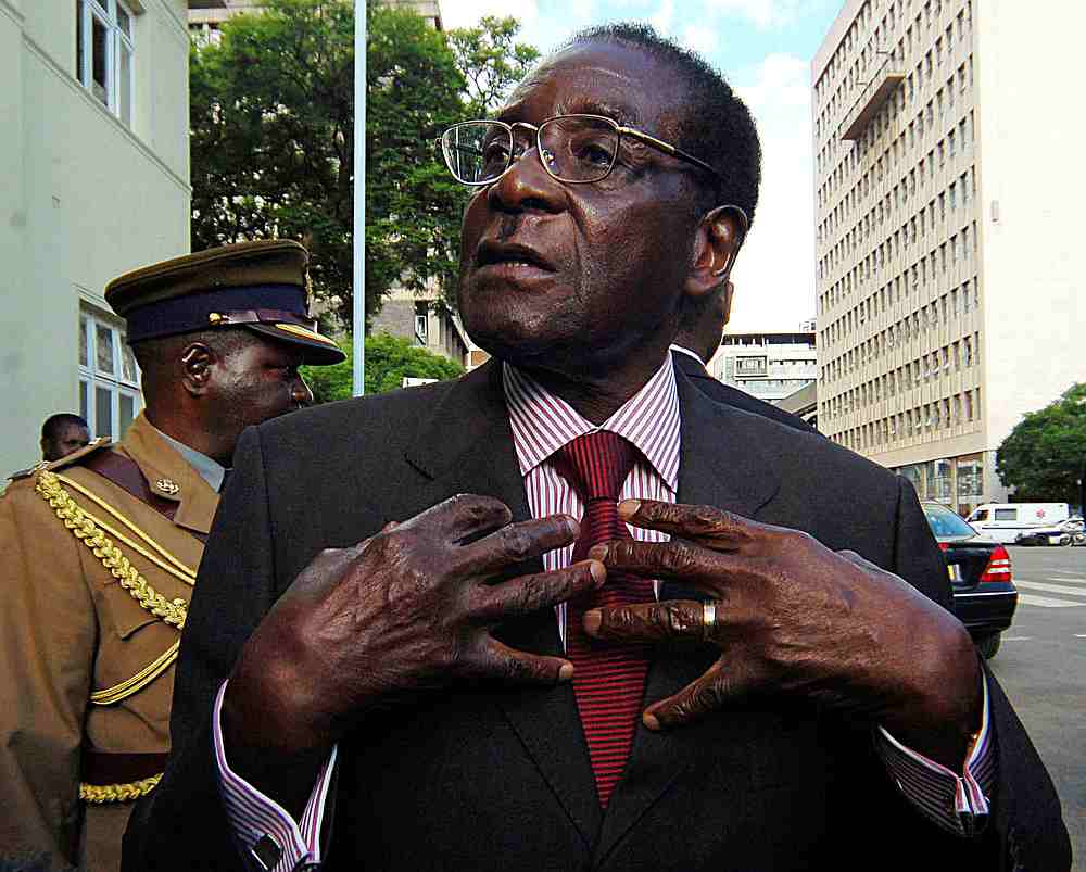 Mugabe's wealth has been a source of speculation. — Reuters pic