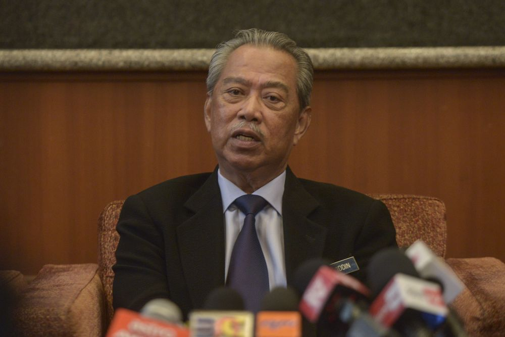 Muhyiddin concluded his visit to Washington DC and New York yesterday. — Picture by Shafwan Zaidon