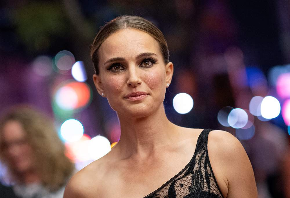 US/Israeli actress Natalie Portman arrives for the premiere of 'Lucy in the Sky' during the 2019 Toronto International Film Festival in Toronto, Ontario September 11, 2019. — AFP pic