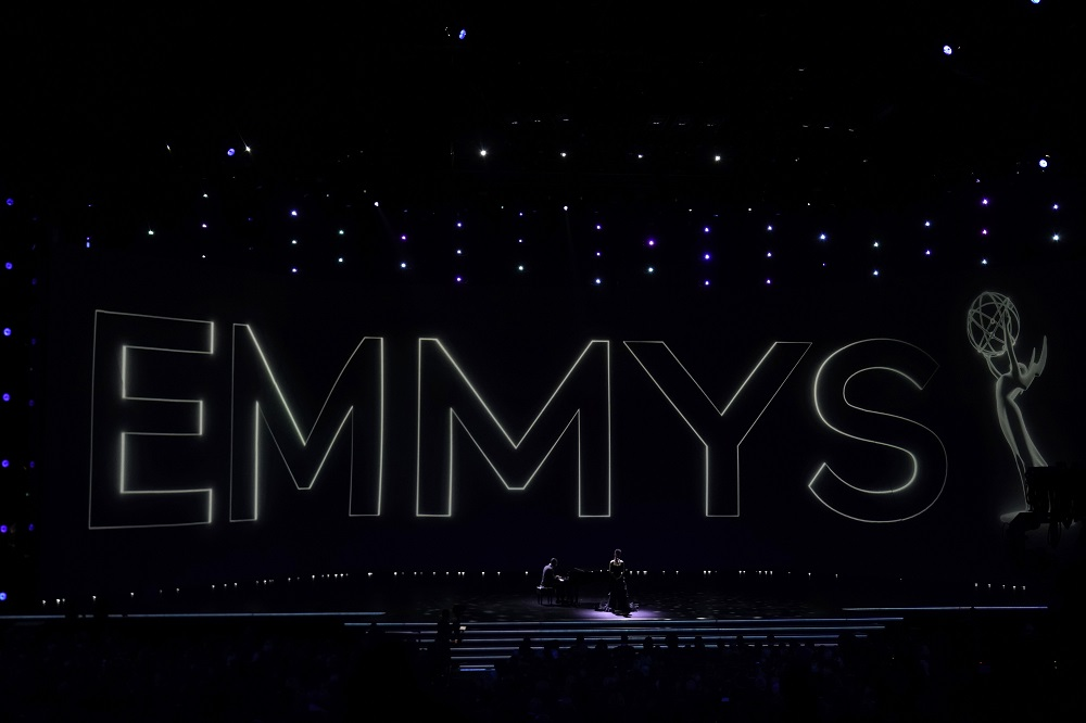 A performer sings during the In Memoriam segment of the show at the 71st Primetime Emmy Awards in Los Angeles, California September 22, 2019. — Reuters pic