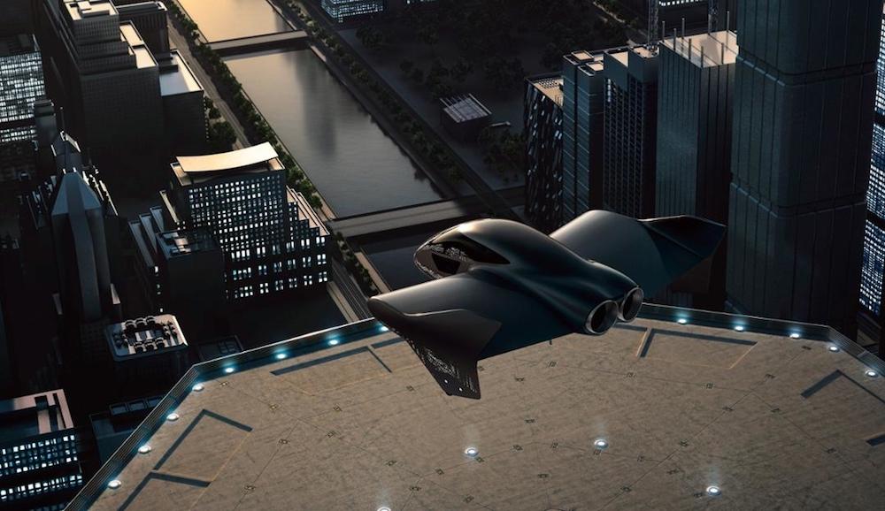Porsche and Boeing to partner on premium urban air mobility concept. — Handout via AFP