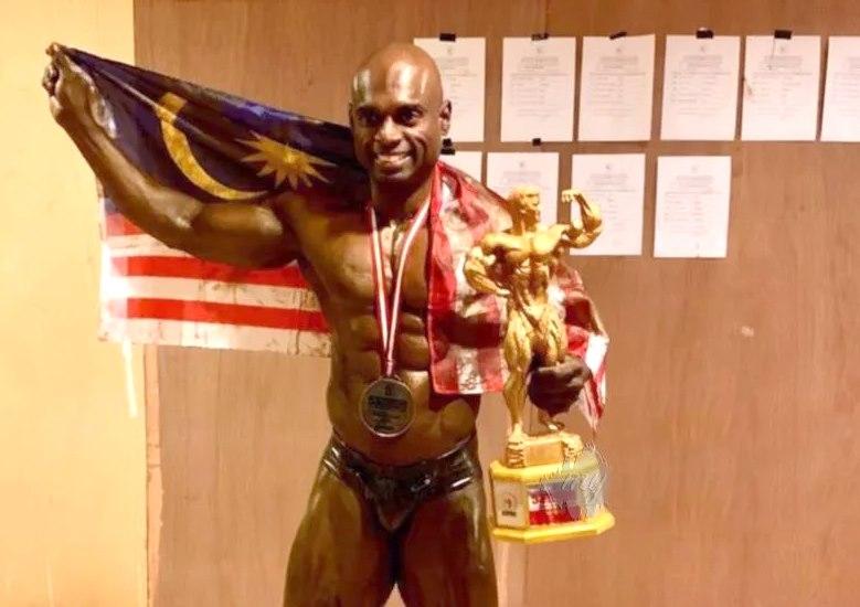 莫哈末沙鲁连续五届征战亚洲健美健身赛都夺冠。