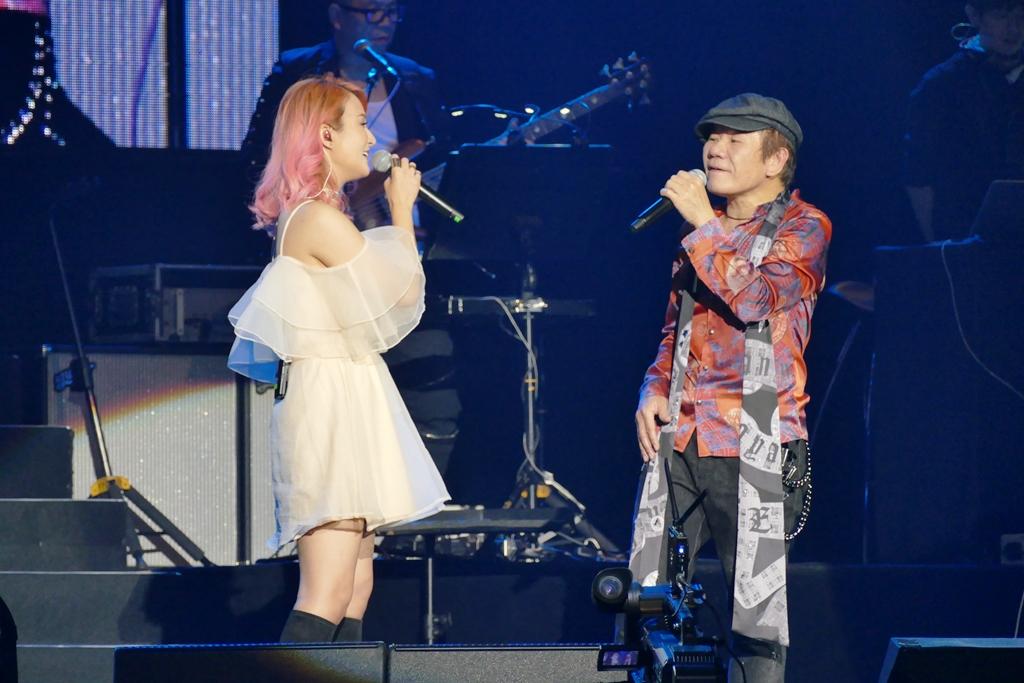 赵传邀请女徒弟Jennifer担任特别嘉宾,并合唱《Endless Love》。-RWGenting提供-