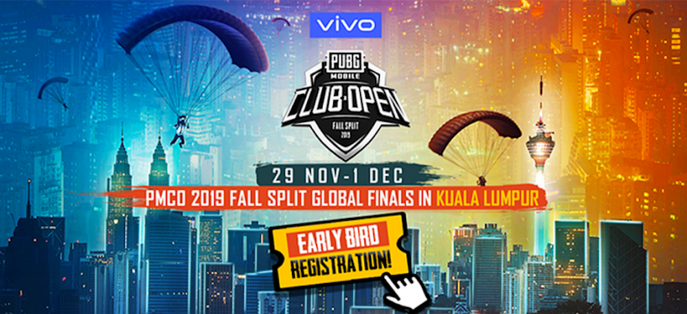 The early bird tickets for the PUBG Mobile Club Open Fall Split Global Finals are offered on a first-come, first-served basis. — Picture via SoyaCincau