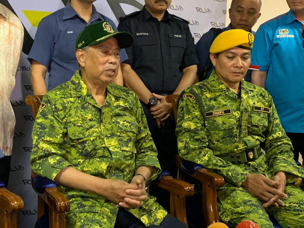 Johor Pakatan Harapan (PH) chief Tan Sri Muhyiddin Yassin said the criteria for the ruling coalition's Tanjung Piai by-election candidate will be made not only in terms of age, but also their credibility, experience, and also backgrounds. — Picture by