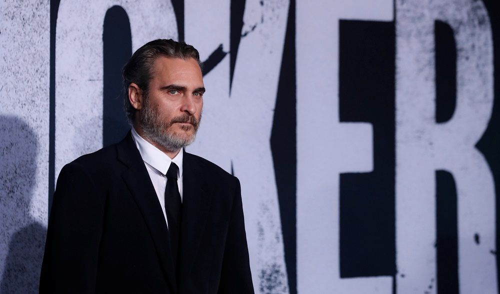 Joaquin Phoenix attends the premiere for the film 'Joker' in Los Angeles September 28, 2019. — Reuters pic