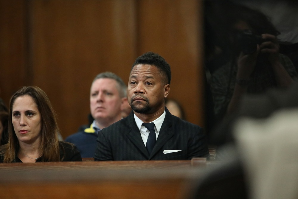 Actor Cuba Gooding Jr is accused of inappropriately groping three women. — Reuters pic