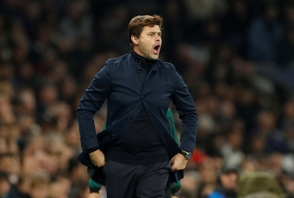 Mauricio Pochettino was sacked by Tottenham Hotspur yesterday after a disappointing start to the season. — Action Images pic via Reuters