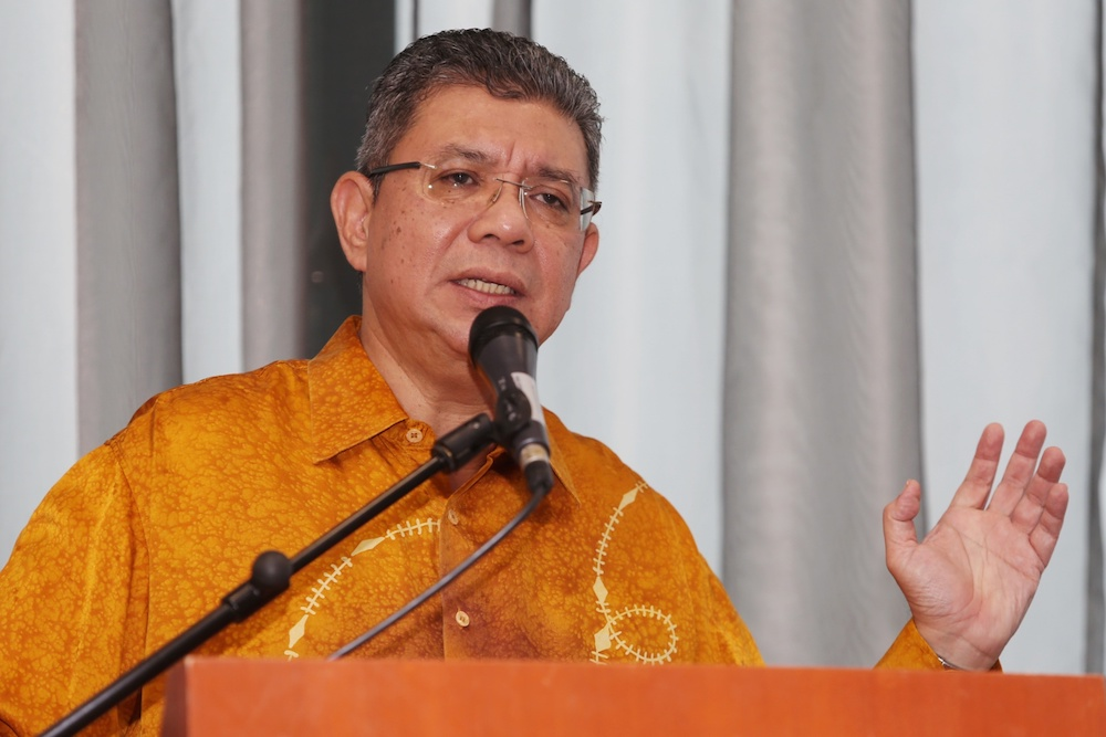 Datuk Saifuddin Abdullah said Malaysians should take heed of warnings and take preventive measures to curb the Covid-19 outbreak. — Picture by Choo Choy May