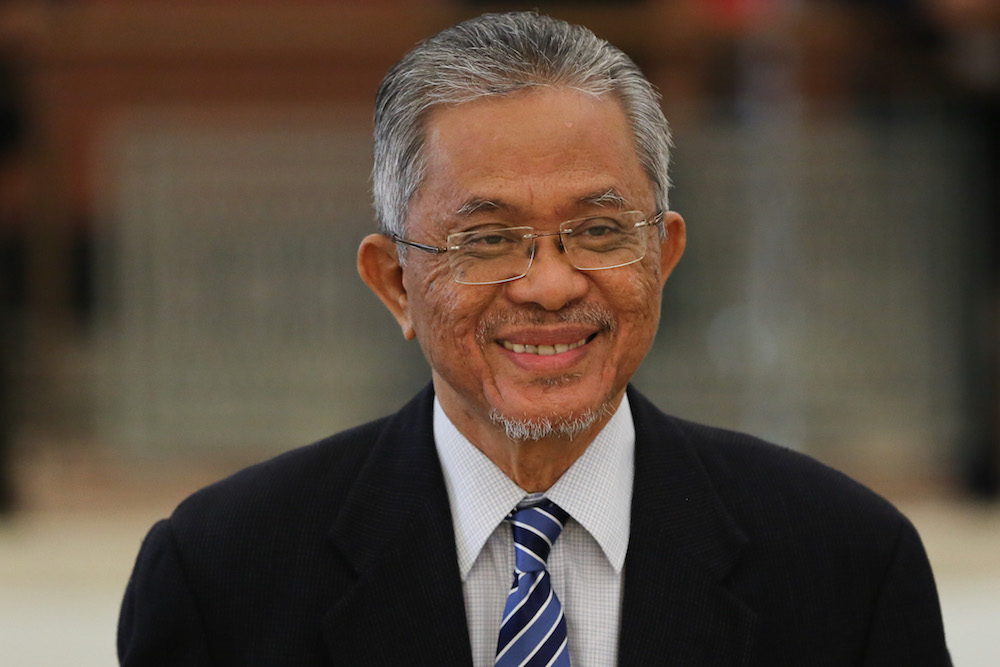 Datuk Kamarudin Jaffar is pictured in Parliament October 7, 2019. — Picture by Yusof Mat Isa