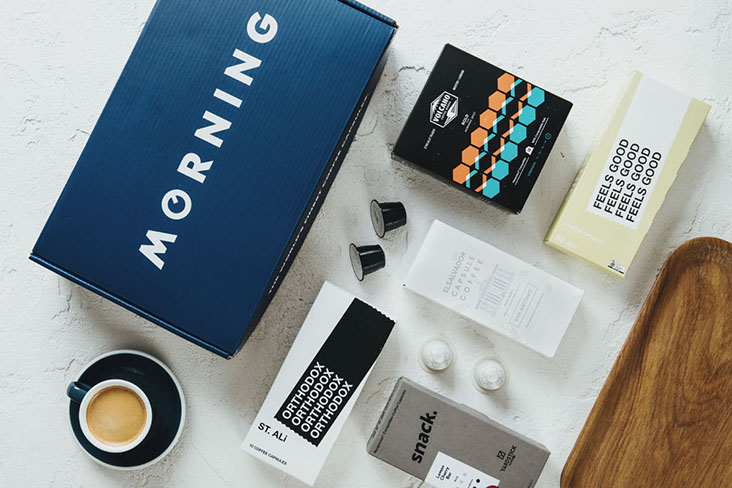 MORNING curates a selection of roasters from around the world such as St Ali in Australia and Volcano Coffee Works in the UK — Pictures courtesy of MORNING, Perk Coffee and Hook Coffee