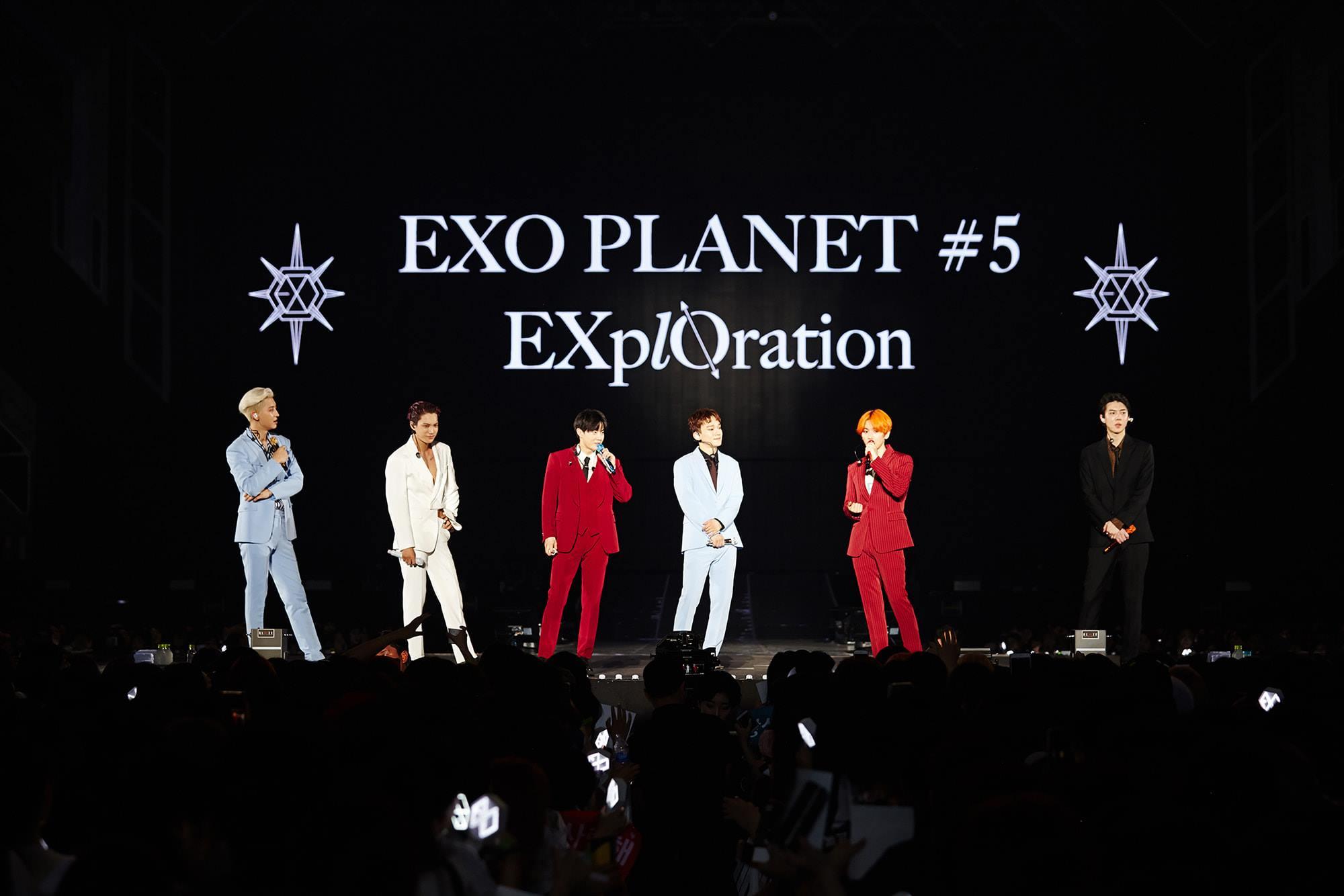 歌迷们非常期盼EXO的到来。-星艺娱乐提供-