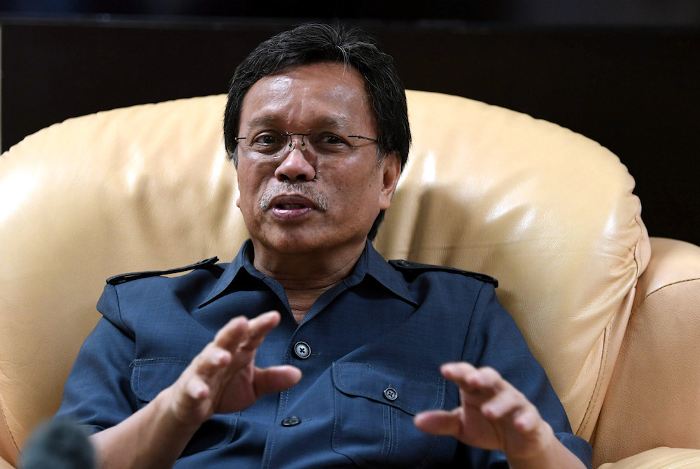 Shafie urged the public not to take action against elephants that wander onto their land and destroy crops. — Bernama pic