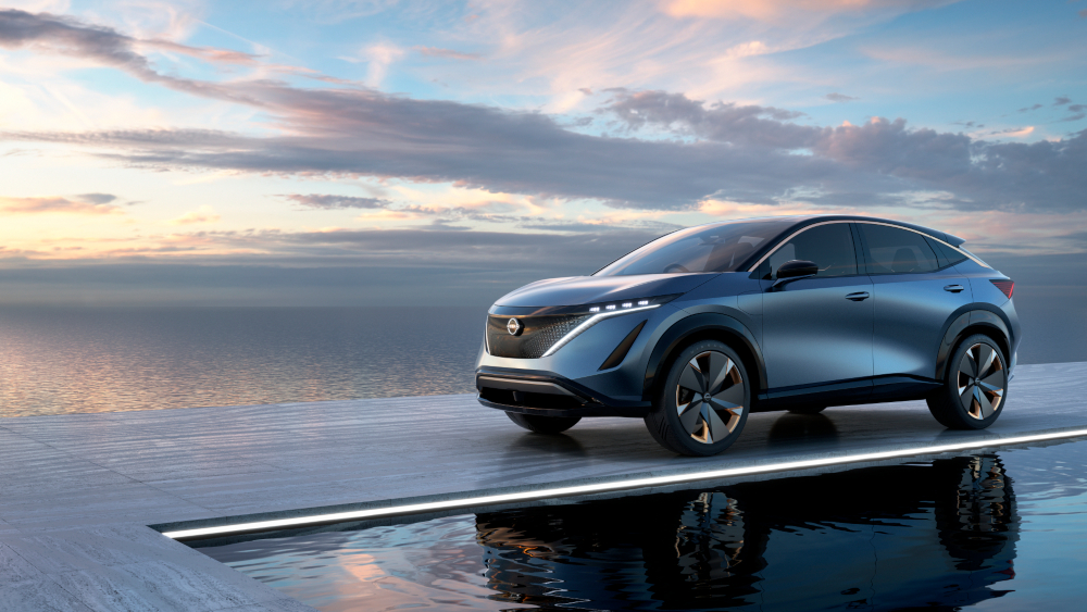 Nissan's Ariya Concept could go into production 'in the near future.' — Picture courtesy of Nissan via AFP-Relaxnews