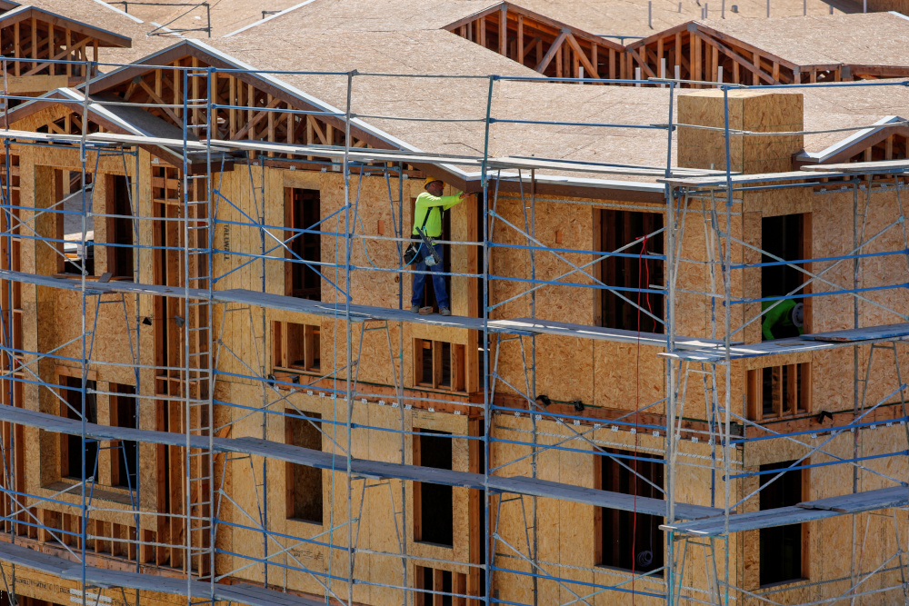 The surge in new and existing home sales, and home construction, underscores the unequal experience of the pandemic across the United States. — Reuters pic