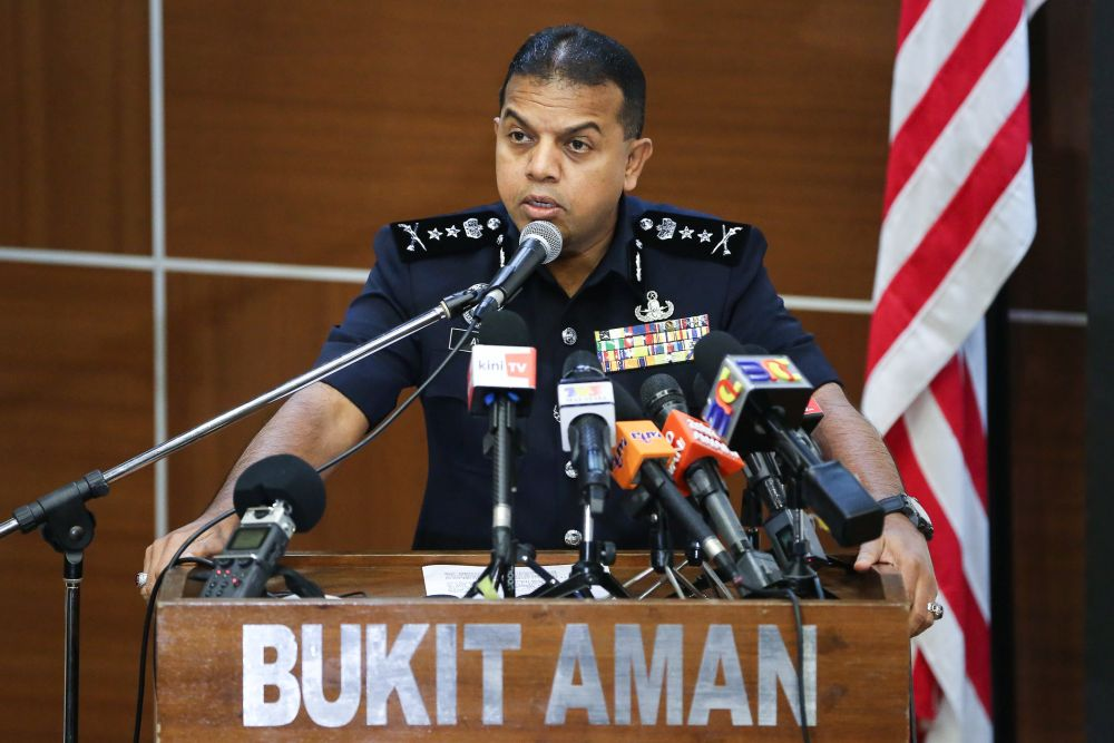 Bukit Aman counter-terrorism chief Datuk Ayob Khan Pitchay confirmed that Yazid was released as his detention order under the Prevention of Terrorism Act (Pota) 2015 has expired. — Picture by Yusof Mat Isa