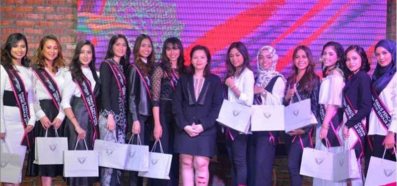 The 12 contestants from the 10th edition of Dewi Remaja. ― Screengrab via Instagram/Majalah Remaja