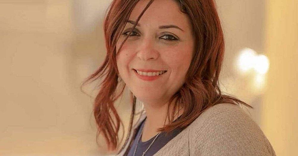 Egyptian blogger and journalist Esraa Abdel Fattah — Image courtesy of amnesty.org