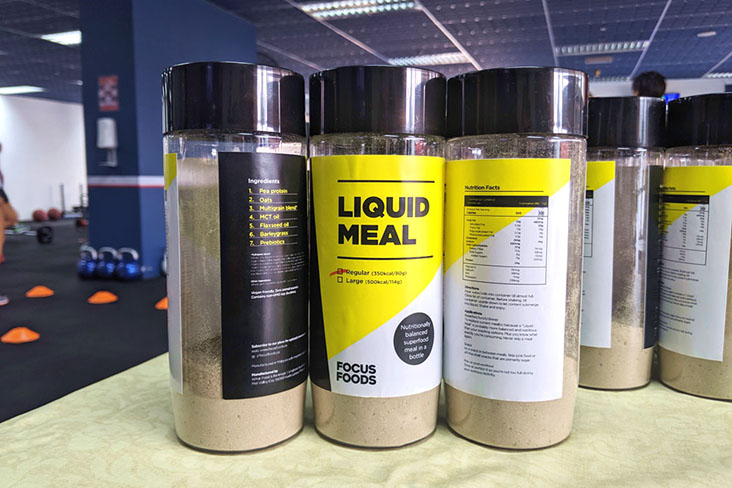 To stay in line with market demands, Focus Foods recently changed their design to a new colour scheme of yellow, black and white