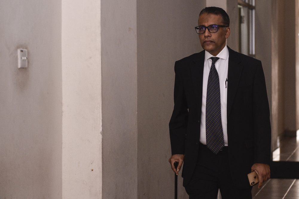Lawyer Francis Pereira was present to hold a watching brief for the patient. ― Picture by Miera Zulyana