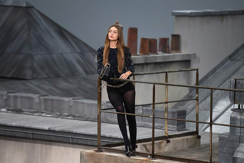 Gigi Hadid garnered a lot of attention in Paris during Fashion Week, especially at the Chanel show October 1, 2019. — AFP