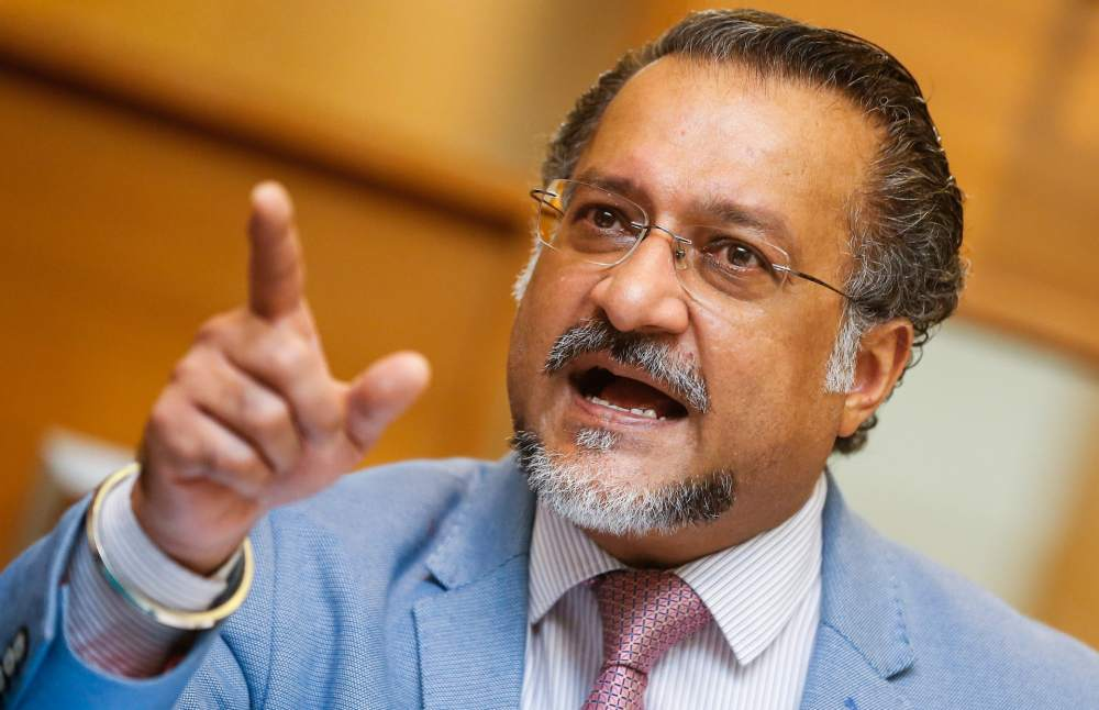 State Housing, Local Government, Town and Country Planning Committee chairman Jagdeep Singh Deo says the Penang government plans to implement seven flood mitigation projects this year at an estimated cost of RM6.7 million. ― Picture by Sayuti Zainudin