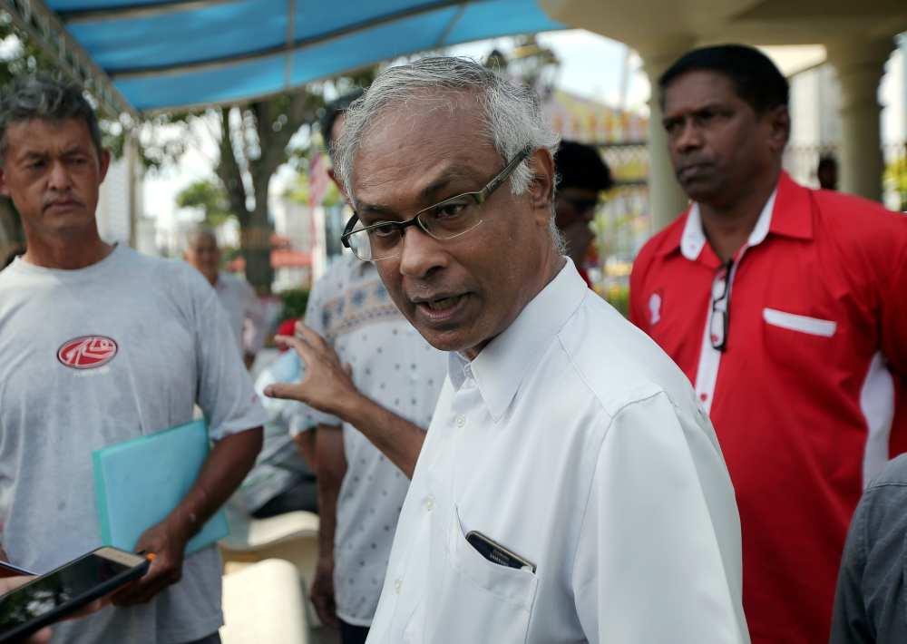 PSM chairman Dr Jeyakumar Devaraj, who represents the farmers, said that the affected farmers are from Tanah Hitam I, Tanah Hitam II and Kuala Kuang. ― Picture by Farhan Najib