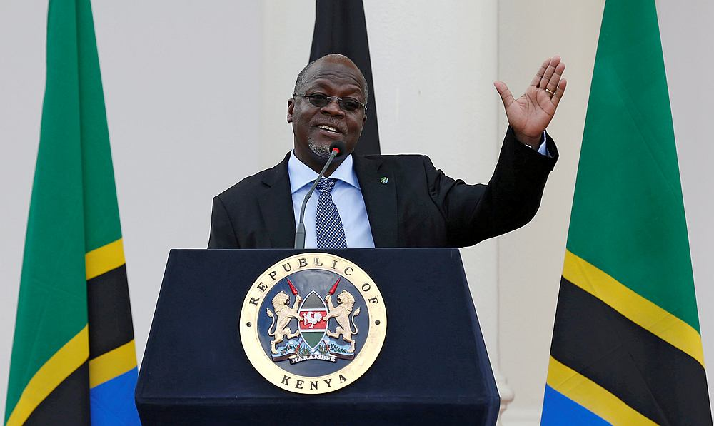 Tanzanian President John Magufuli had been missing from public view for almost three weeks, fuelling wild rumours of his ill health, with opposition leaders claiming he had contracted the virus. — Reuters pic