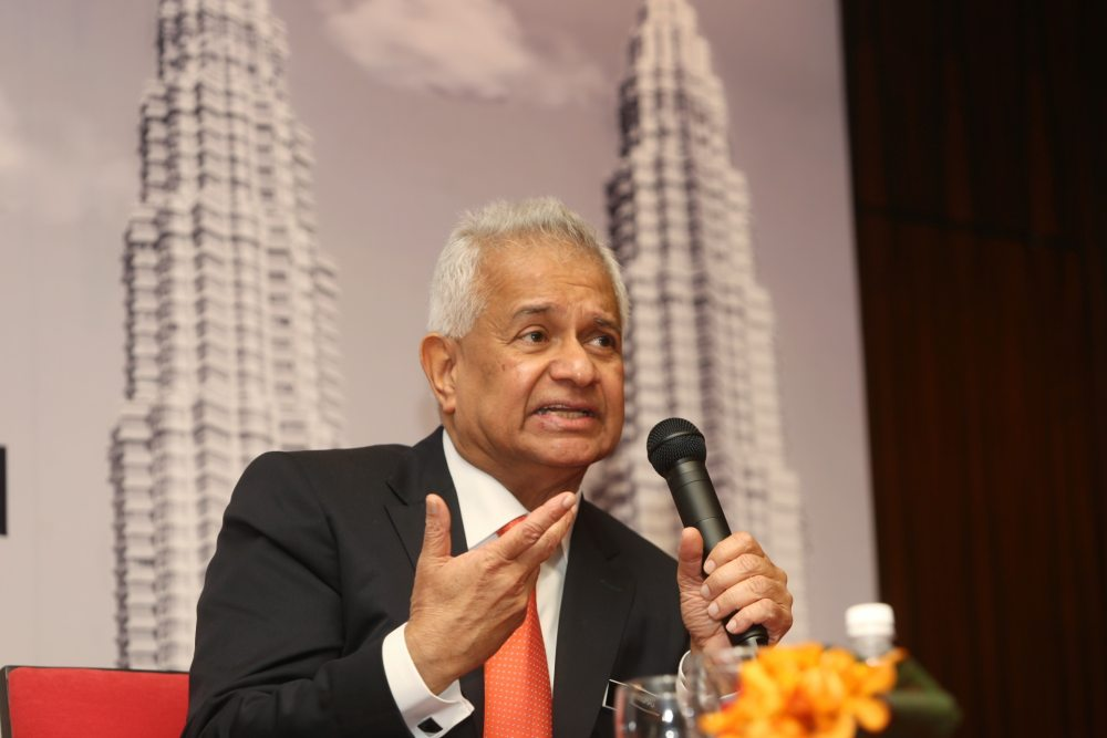 In the prologue to his book, 'My Story: Justice in the Wilderness', Tan Sri Tommy Thomas said the then-prime minister made the revelation almost immediately after saying that his appointment as the AG had received royal assent. — Picture by Choo Choy May