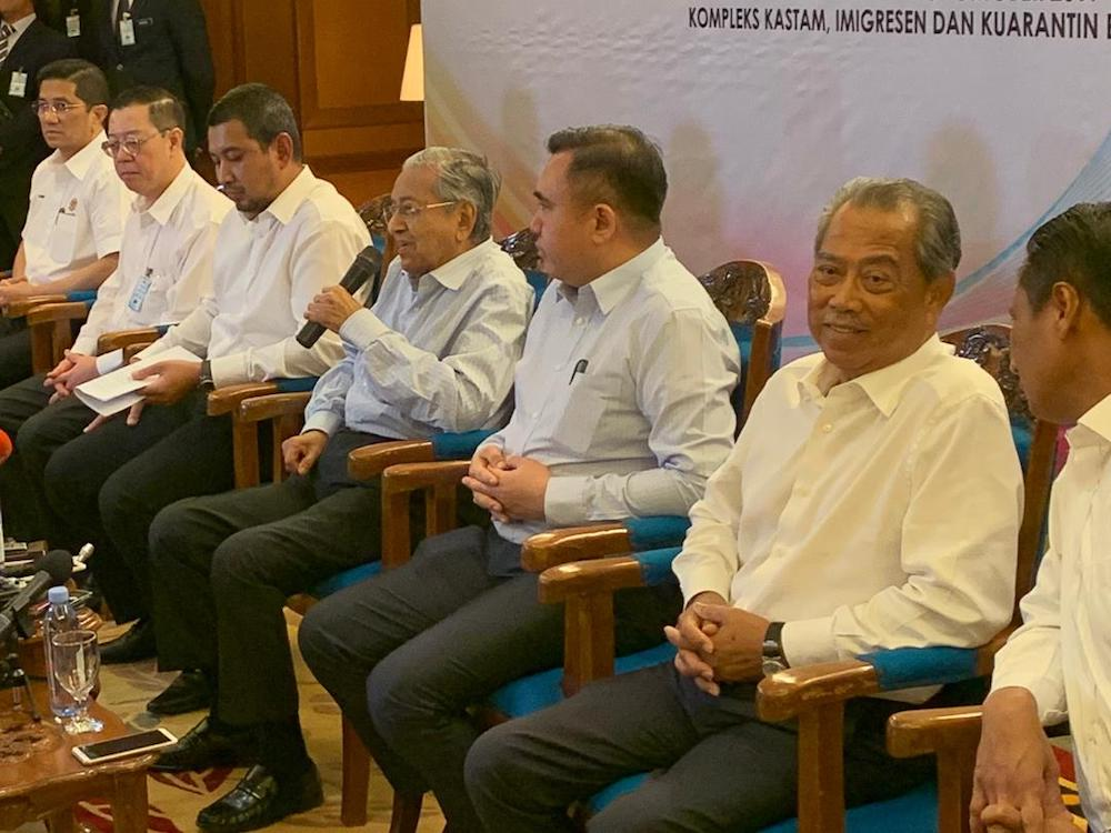 Prime Minister Tun Dr Mahathir Mohamad said the sale or disposal of government strategic assets comes under Khazanah, of which he is the chairman. — Picture by Ben Tan