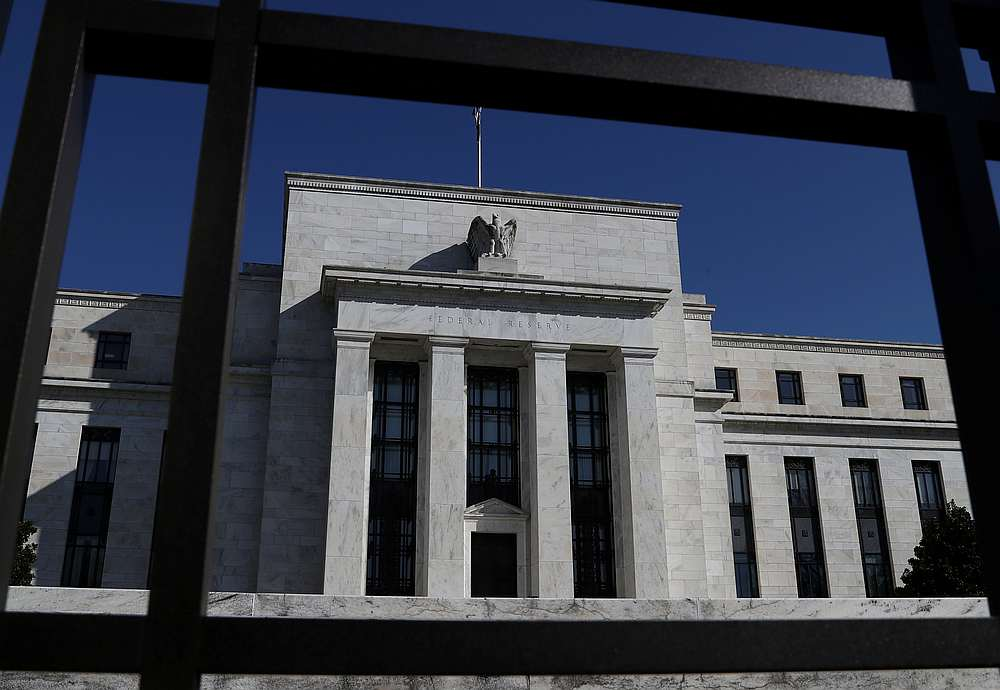 Federal Reserve Board building on Constitution Avenue in Washington March 19, 2019. — Reuters pic