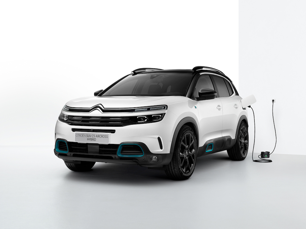 The Citroën C5 Aircross Hybrid will be available in mid-2020. — Picture courtesy of Citroën Communication
