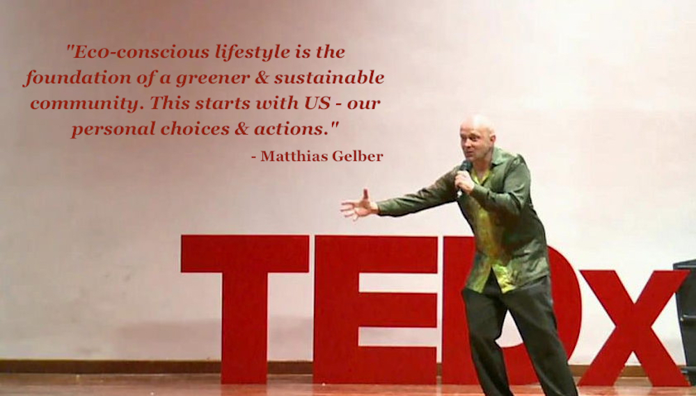 Gelber believes that every individual can be an agent of change in the fight against the climate crisis. — Picture courtesy of Matthias Gelber