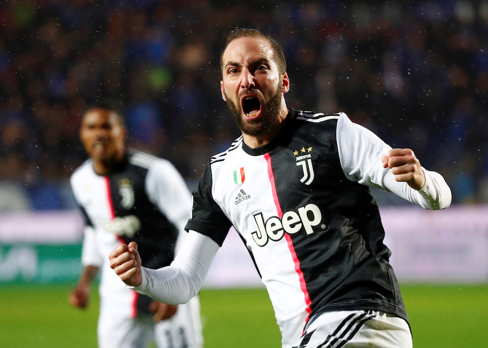 Higuain ,who joined Juventus in 2016 after a three-year stint with Napoli, scored 66 goals in 149 games in all competitions for the league champions. — Reuters pic