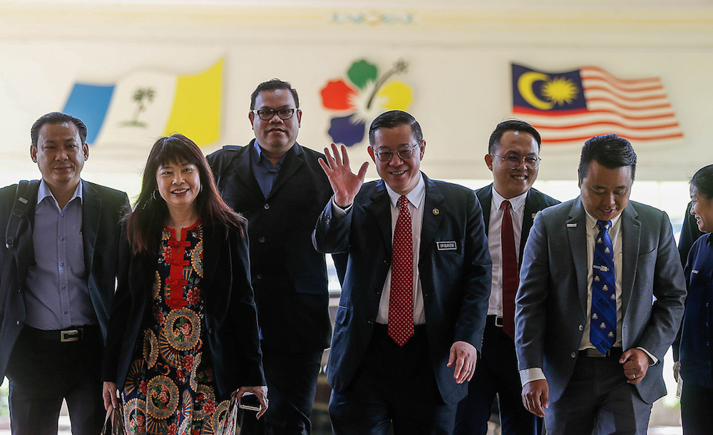 Finance Minister Lim Guan Eng attends the Penang State Assembly in George Town November 5, 2019. — Picture by Sayuti Zainuddin