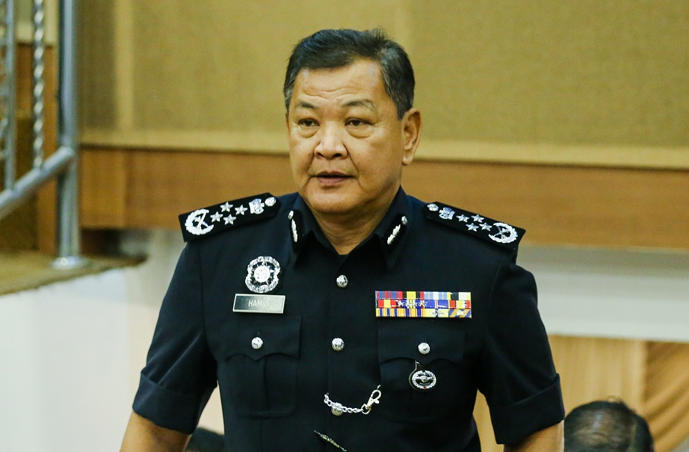 IGP Tan Sri Abdul Hamid Bador says Yazid is freed on several conditions and the police are confident that they are taking good care of the matter. — Picture by Firdaus Latif