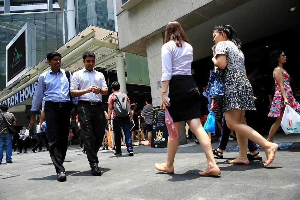 Unemployment in Singapore fell across the board in February, the Ministry of Manpower said on April 7, 2021. — TODAY