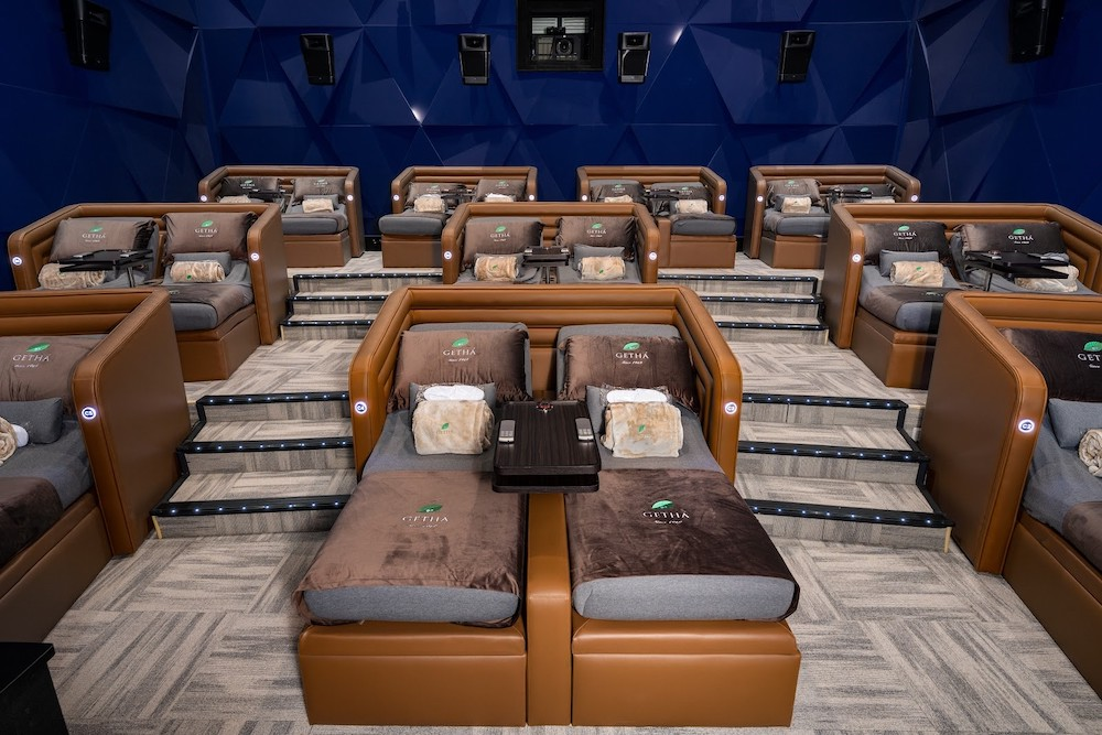 Built with an in-hall call for service button, USB charger and even a remote control to adjust your seat, a sense of luxurious comfort is guaranteed when you visit Aurum Theatre. — Picture courtesy of Golden Screen Cinemas.