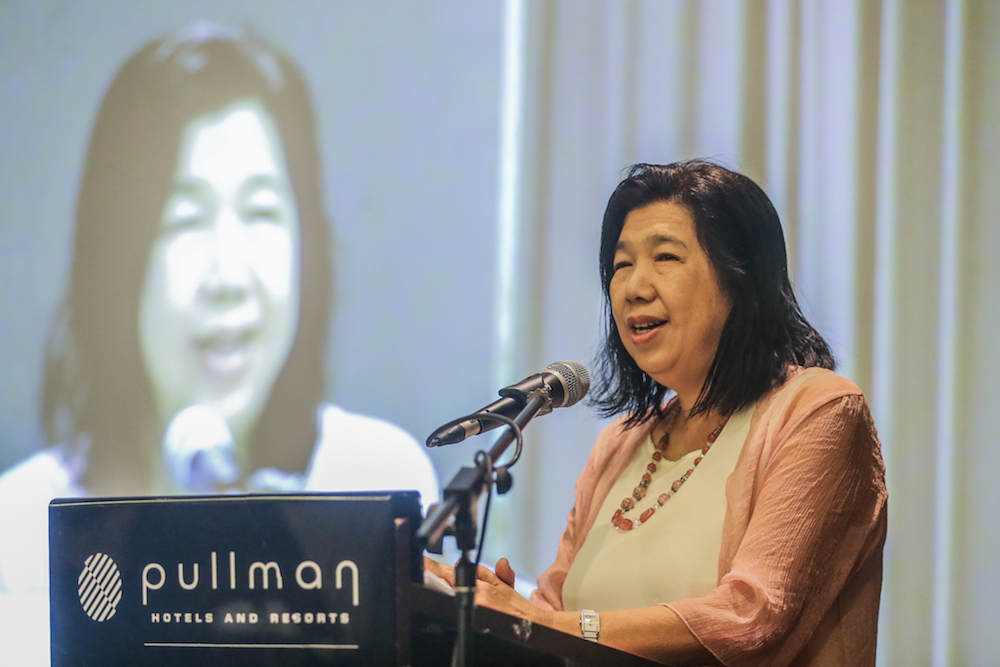 Susanna Liew, the wife of missing pastor Raymond Koh is being honoured for her tireless pursuit of justice and for pushing those responsible for his abduction to be punished. — Picture by Firdaus Latif