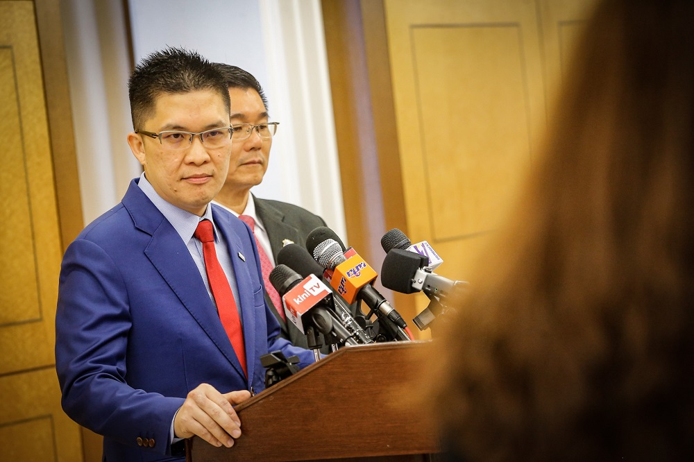 Wong explained that the 97 land deals were not done in the best interests of DBKL and the city's residents. — Picture by Hari Anggara