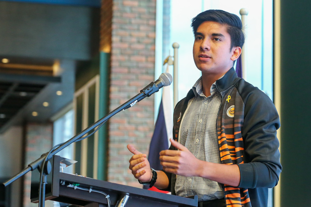 Youth and Sports Minister Syed Saddiq Abdul Rahman said the ministry through the National Sports Council (MSN) and the National Sports Institute are ready with their contingency plans to overcome any problems. — Picture by Yusof Mat Isa