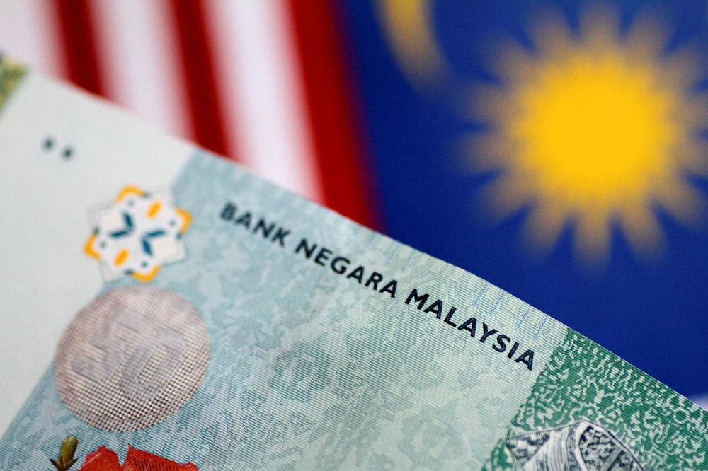 The ringgit ended slightly lower against the US dollar December 4, 2019. — Reuters file pic