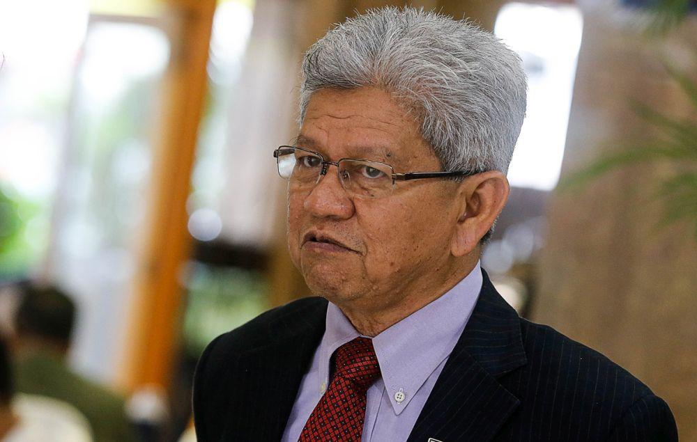 Penang Deputy Chief Minister I Datuk Ahmad Zakiyuddin Abdul Rahman is pictured at Dewan Sri Pinang, George Town November 7, 2019. — Picture by Sayuti Zainudin