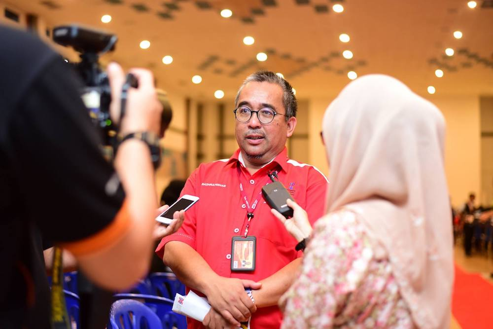 Badhrulhisham said Berjasa's decision to contest does not affect the Pas-Umno alliance. — Picture via Facebook