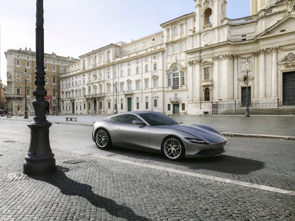 Ferrari announces Roma in Rome. — Picture courtesy of Ferrari via AFP-Relaxnews