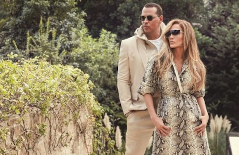 Jennifer Lopez and Alex Rodriguez have co-created a collection for Quay Australia. — AFP-Relaxnews pic
