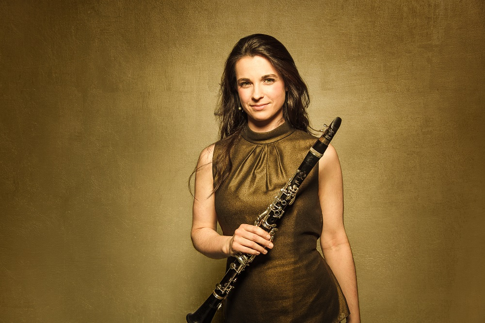 Belgian clarinettist Annelien Van Wauwe will make her debut at Dewan Filharmonik Petronas next weekend. ― Picture courtesy of Malaysian Philharmonic Orchestra