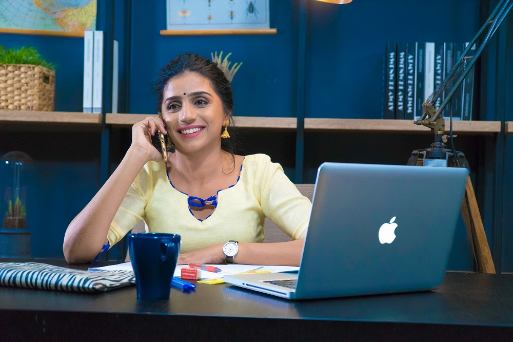 Shalini Balasundaram began her stint as an actor and director in 2015 when she was merely 22. — Picture courtesy of Story Films and Shaibha Vision